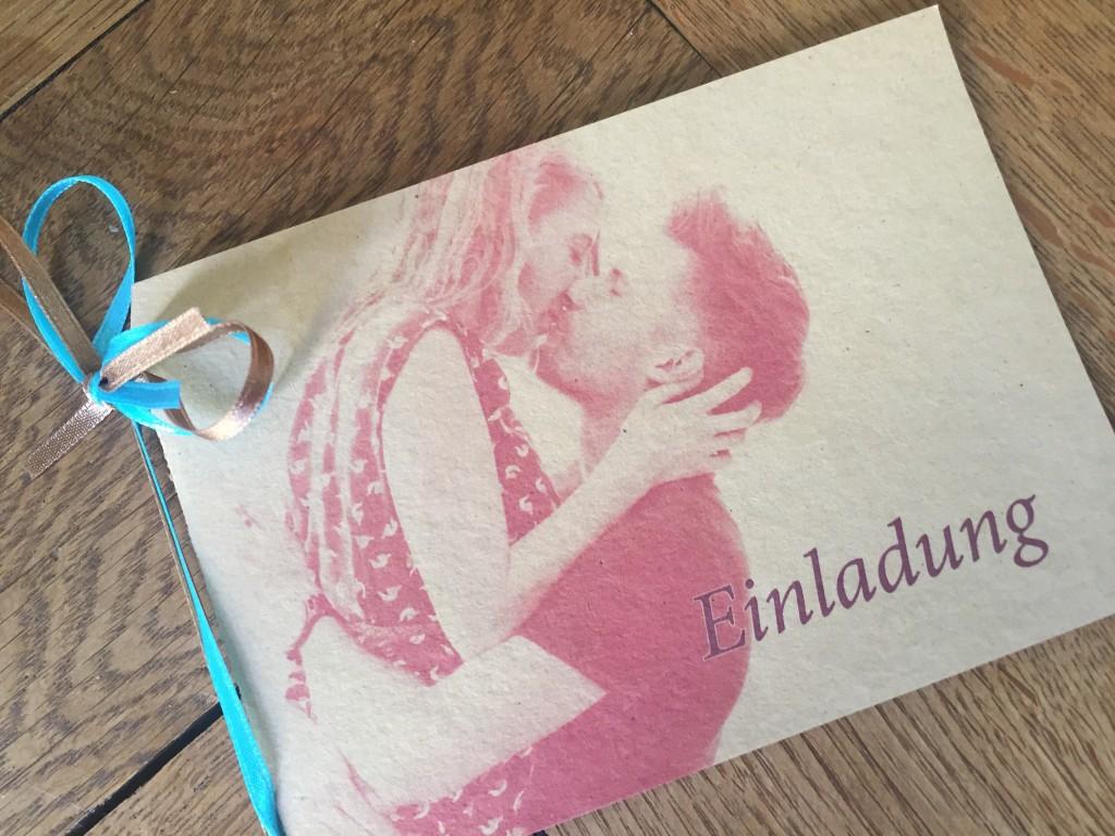 DIY Hochzeitseinladung Design
