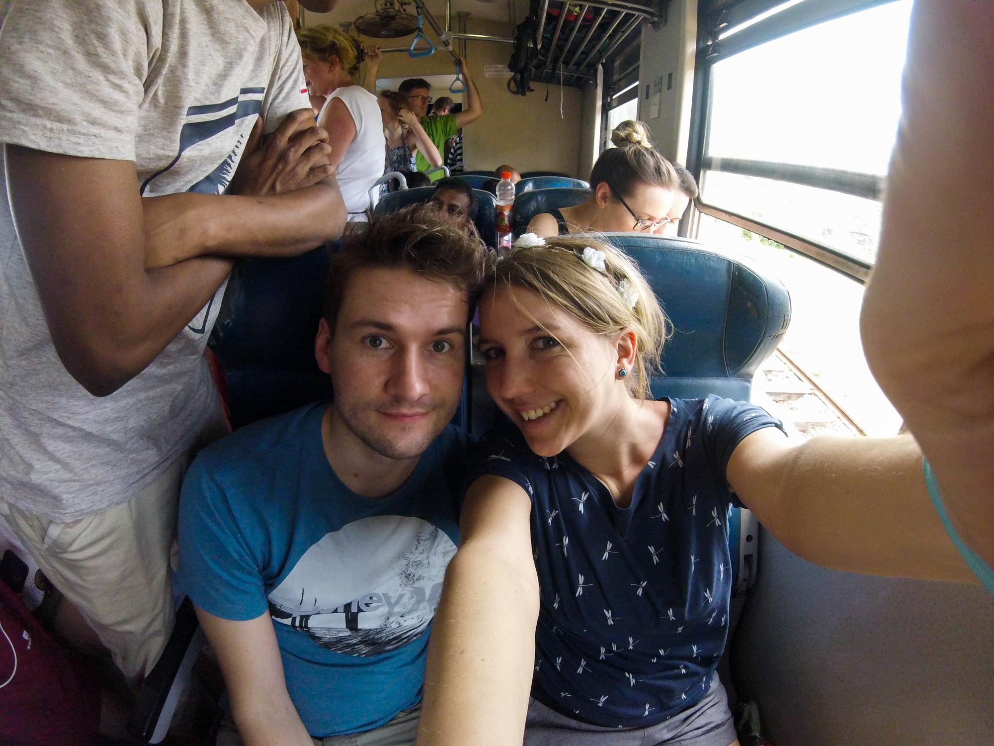 Zugfahrt von Kandy nach Ella