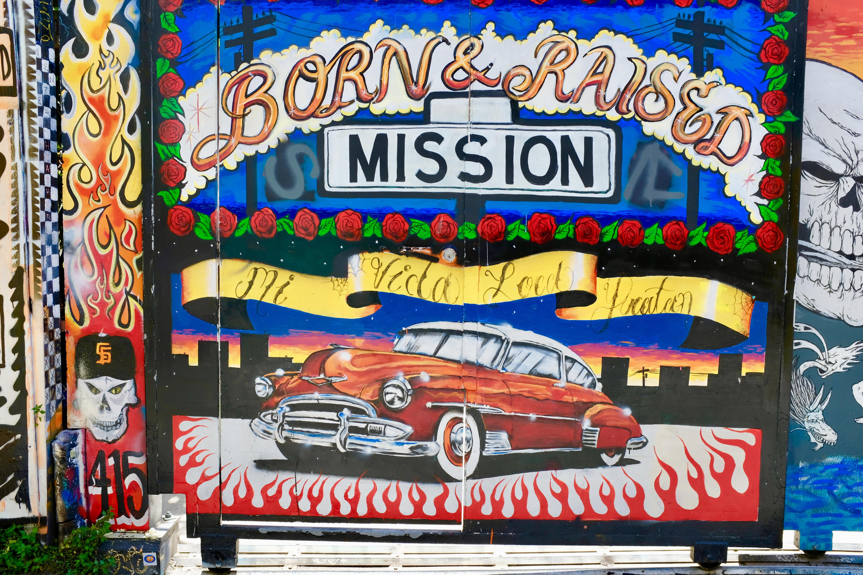 Mural Mission Kalifornien
