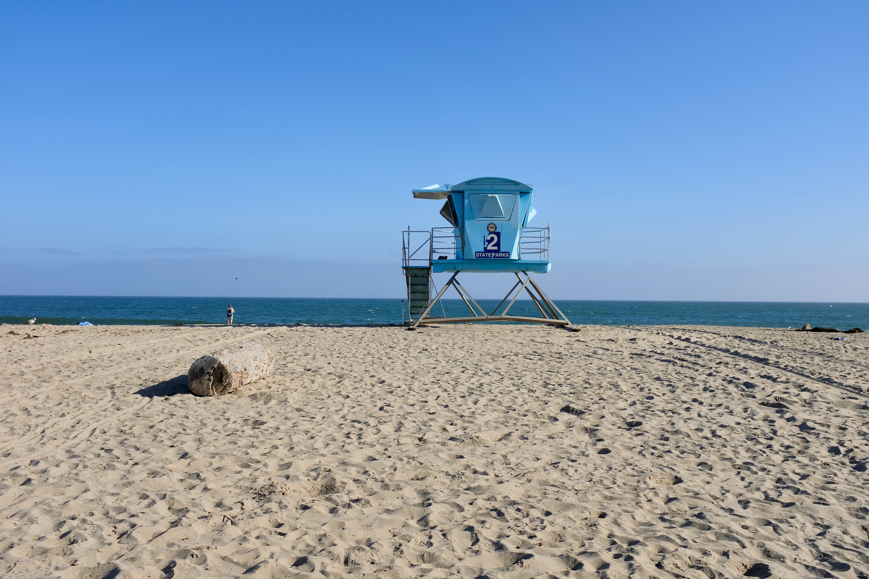 Strand Santa Cruz Kalifornien