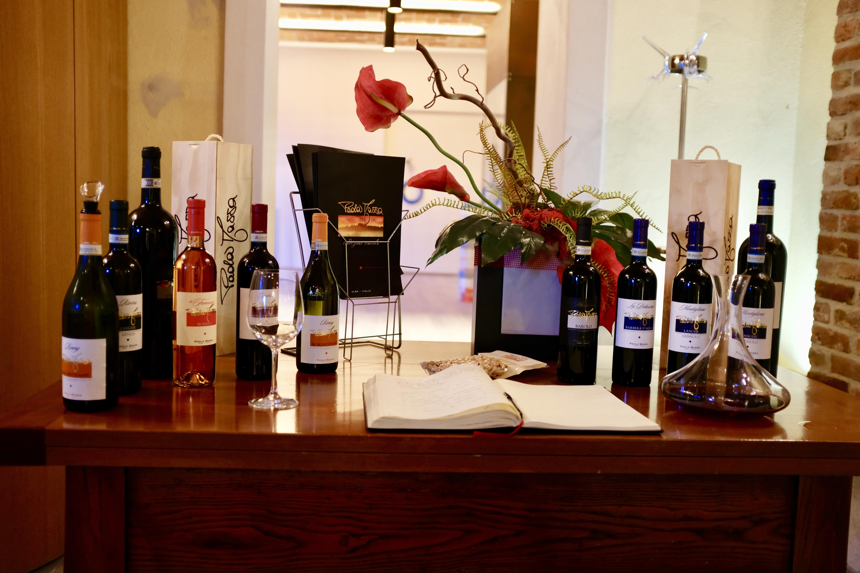 Wine Tasting Wineprobe Paola Massa