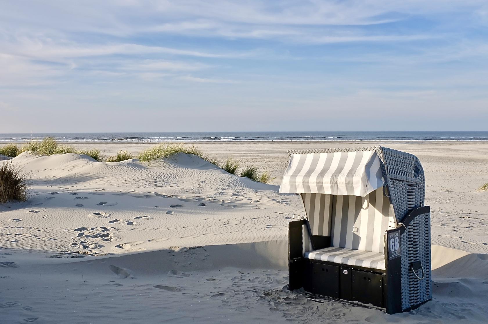 Strandkorb Juist Nordsee